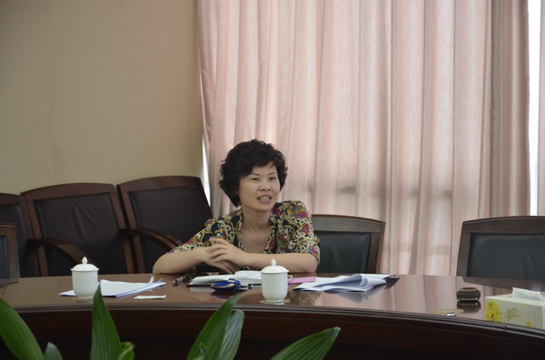 集团就S1线工作向郑朝阳副市长汇报